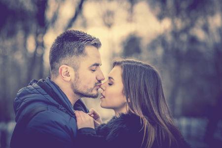 kissing an ex